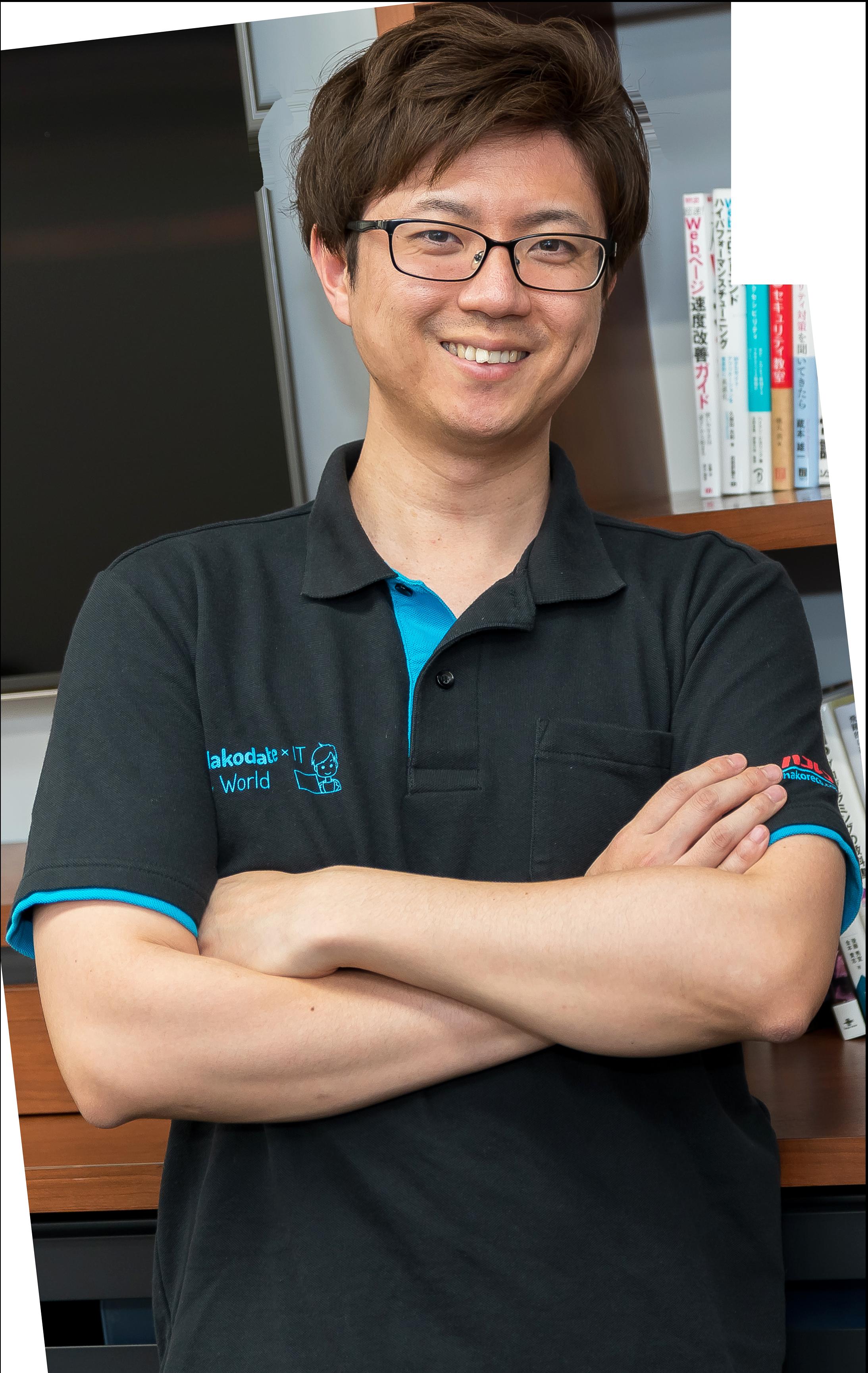 代表取締役CEO山田圭飛