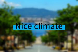 Nice climate
